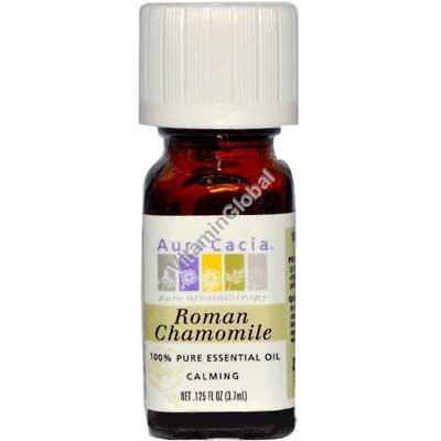 Roman Chamomile Pure Essential Oil 3.7 ml - Aura Cacia