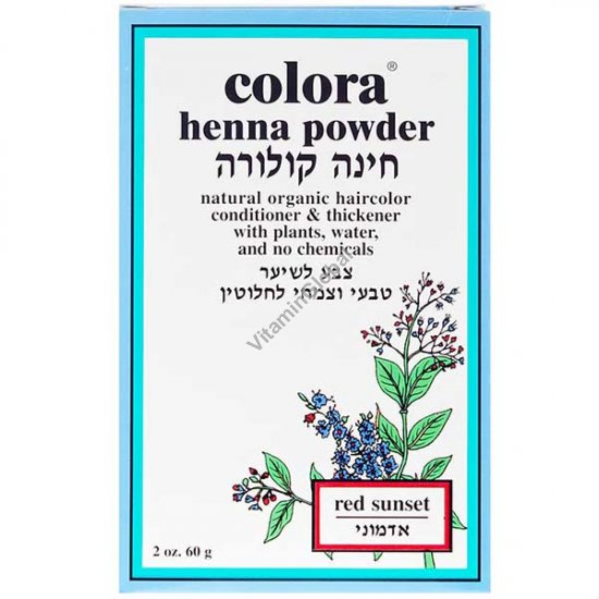 Henna Powder Red Sunset 60g (2 oz.) - Colora