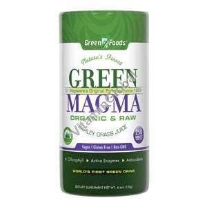 Green Magma Organic Barley Grass 250 tablets - Green Foods
