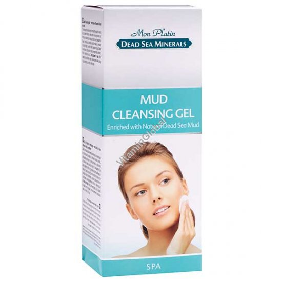 Mud Cleansing Gel Enriched with Natural Dead Sea Mud 150 ml - Mon Platin