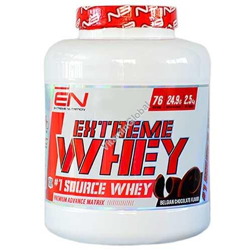 Kosher Extreme Whey Protein Belgian Chocolate Flavor 2.50 kg - Extreme Nutrition