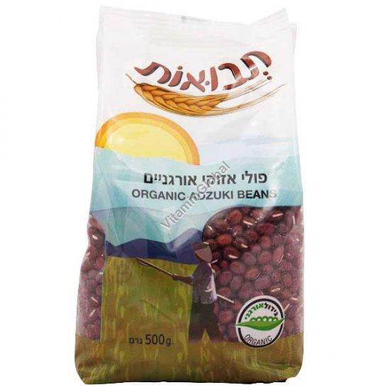Organic Adzuki Beans 500g - Tvuot