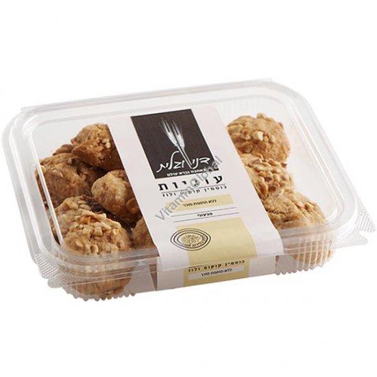 No Added Sugar, Whole Spelt Flour Coconut Hazelnut Cookies 230g - Dani & Galit