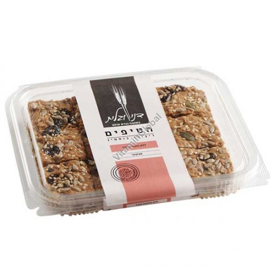 No Added Sugar, Whole Spelt Flour Granola Bars 230g - Dani & Galit