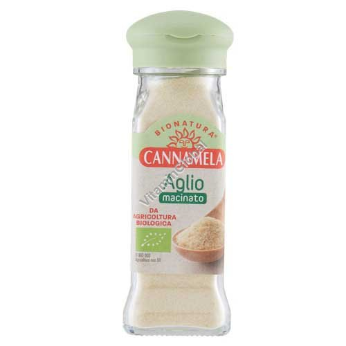 Organic Garlic Powder 70g - Cannamela