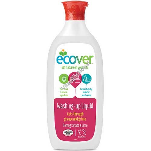 Ecological Dishwashing Liquid Pomegranate and Lime 1L - Ecover