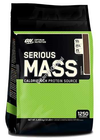 Serious Mass Weight Gainer Chocolate 5.455g - Optimum Nutrition