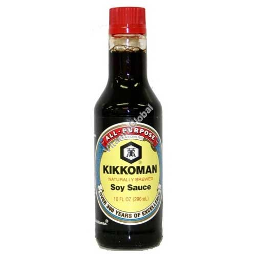 Naturally Brewed Soy Sauce 296 ml - Kikkoman