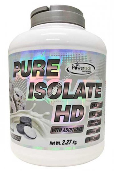 Kosher Pure Isolate HD Protein Cookies Ice Cream 2.27kg (5 LB.) - PowerTech Nutrition