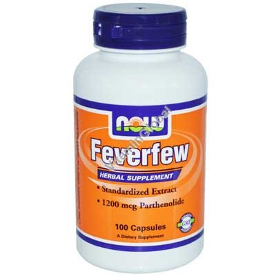 Feverfew Standardized Extract 100 caps - NOW Foods