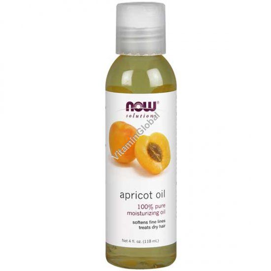 Apricot Kernel Oil 118ml (4 fl oz) - Now Solutions