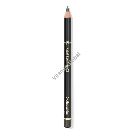 Kajal Eyeliner Pencil 02 Soft Grey - Dr. Hauschka