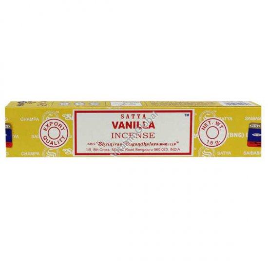 Vanilla Hand-Rolled Incense 15g - Satya