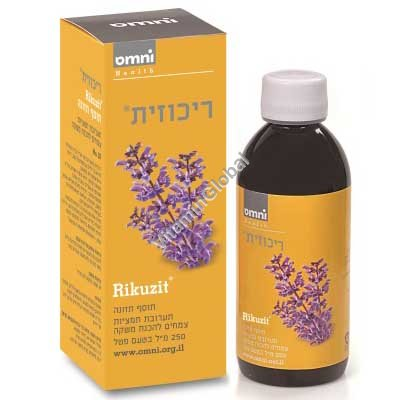 Nurture & Clarity CHP - Rikuzit for problems with attention and concentration 250 ml - Omni
