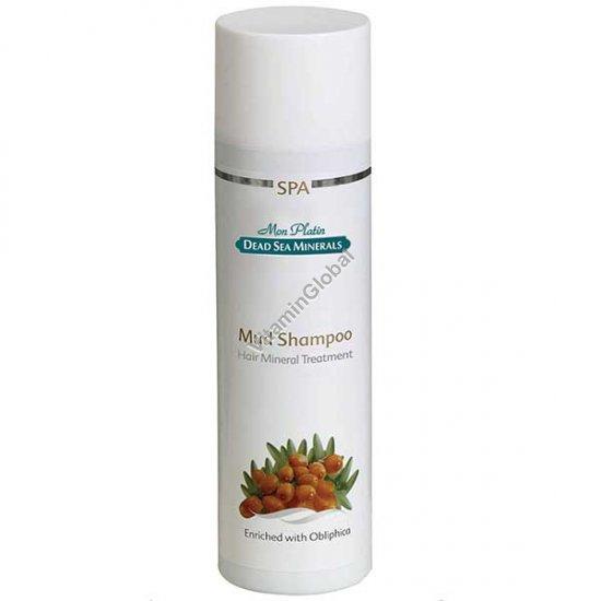 Mud Shampoo with Sea Buckthorn Oil 500ml - Mon Platin