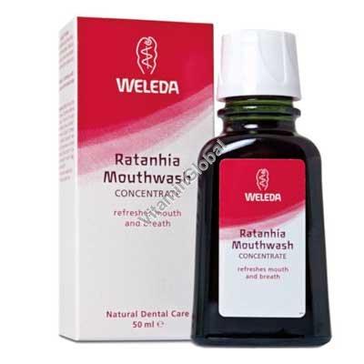 Ratanhia Mouthwash 50 ml - Weleda