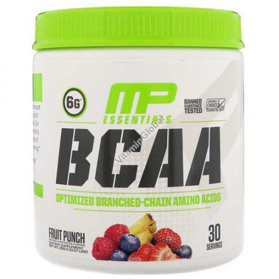 BCAA Powder Fruit Punch 0.57 LBS (258g) - MusclePharm