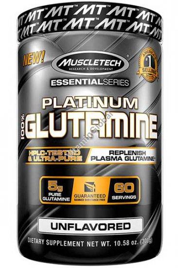 Platinum Glutamine Powder, Unflavored, 10.58 oz (300 g) - MuscleTech