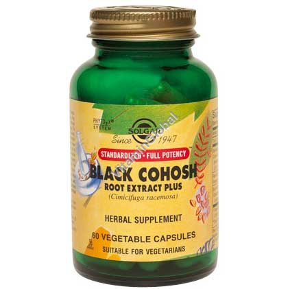 Black Cohosh Root Extract (SFP) 60 capsules - Solgar