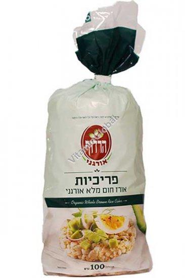 Organic Whole Rice Cakes 110g - Harduf