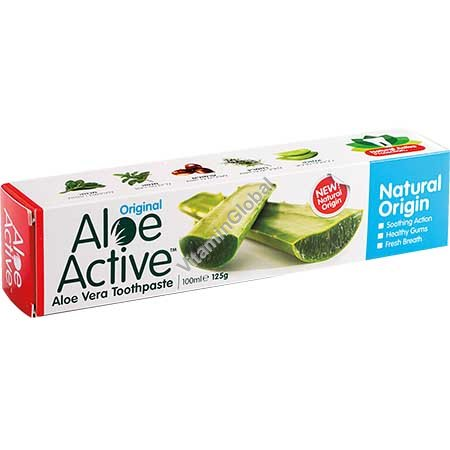 Aloe Vera Toothpaste 100ml - Aloe Active