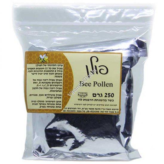 Kosher L\'Mehadrin Bee Pollen 250g - Herba Center