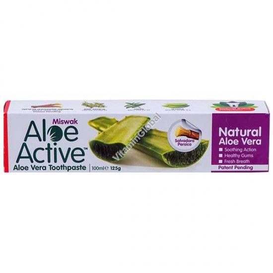 Aloe Vera Miswak Toothpaste 100 ml - Aloe Active