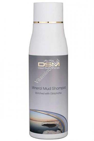 Mineral Mud Shampoo with Sea Buckthorn Oil 500ml - Mon Platin