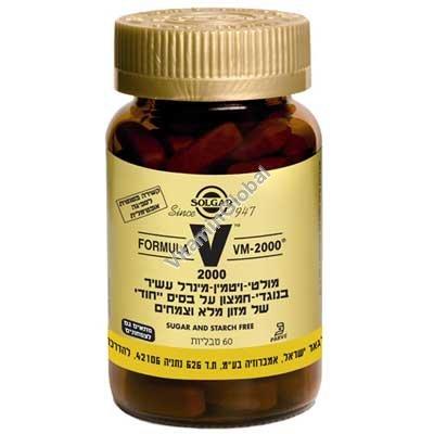 Multi-Vitamin VM-2000 60 tablets - Solgar