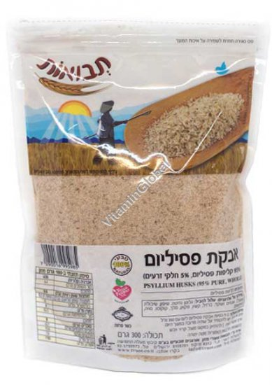 Kosher L\'Mehadrin Pure Psyllium Husks Powder 300g - Tvuot