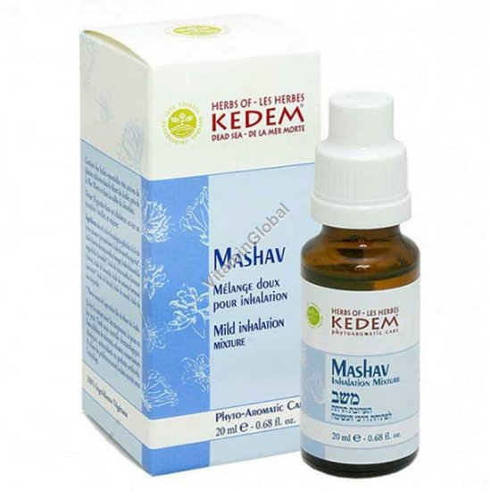 Mashav Nose-Mouth Relief Inhalation Oils Mixture 20 ml - Herbs of Kedem
