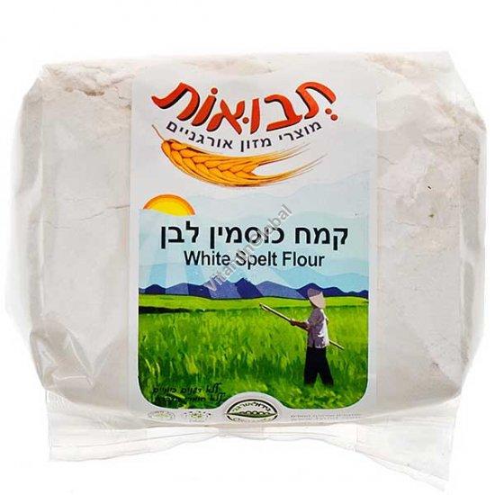 Natural White Spelt Flour 1kg - Tvuot