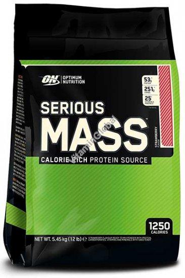 Serious Mass Weight Gainer Strawberry 5.455g - Optimum Nutrition