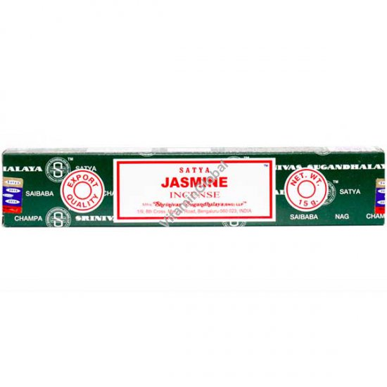 Jasmine Hand-Rolled Incense 15g - Satya