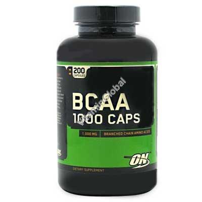 BCAA 1000 200 capsules - Optimum Nutrition