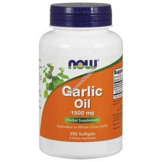 Garlic Oil 250 Softgels - Now Foods