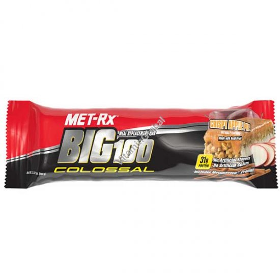 Crispy Apple Pie Big 100 Colossal Protein Bar 100g - MET-Rx