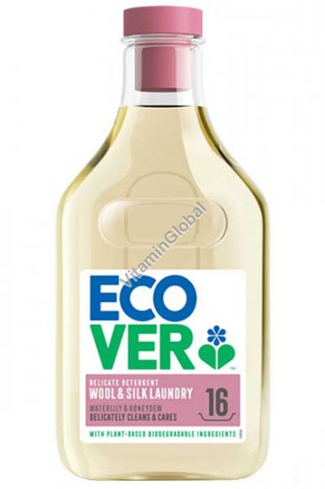 Plant-Based Delicate Laundry Liquid for Wool & Silk Fabrics 750ml - Ecover