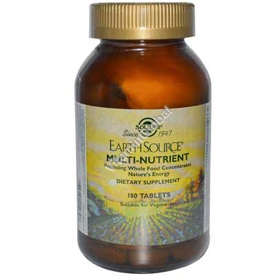 Earth Source Multi Nutrient 180 tabs - Solgar