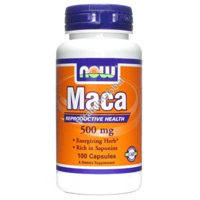 Maca 500mg 100 capsules - Now Foods