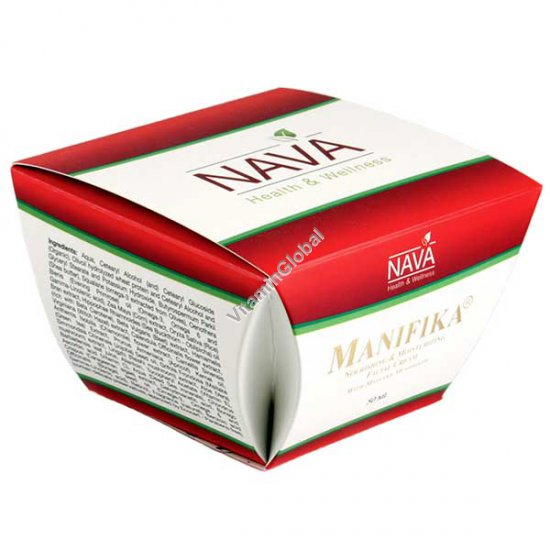 Manifika Nourishing & Moisturizing Facial Cream with Maitake Mushroom 50ml (1.69 FL OZ) - Nava