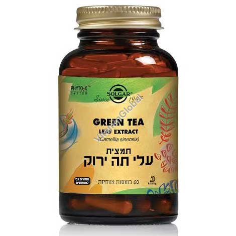 Green Tea Leaf Extract 60 Vcaps - Solgar