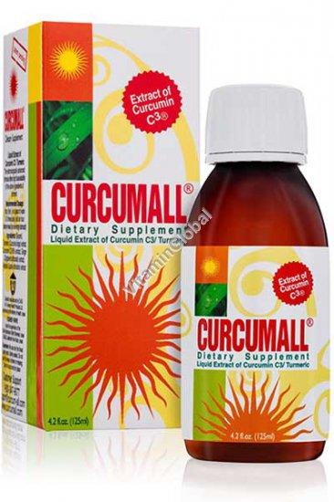 Curcumall - Liquid Extract of Curcumin C3 / Turmeric 125 ml
