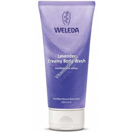 Lavender Creamy Body Wash 200ml (7.2 OZ) - Weleda