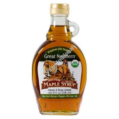 Pure Organic Maple Syrup 310g - Great Northern