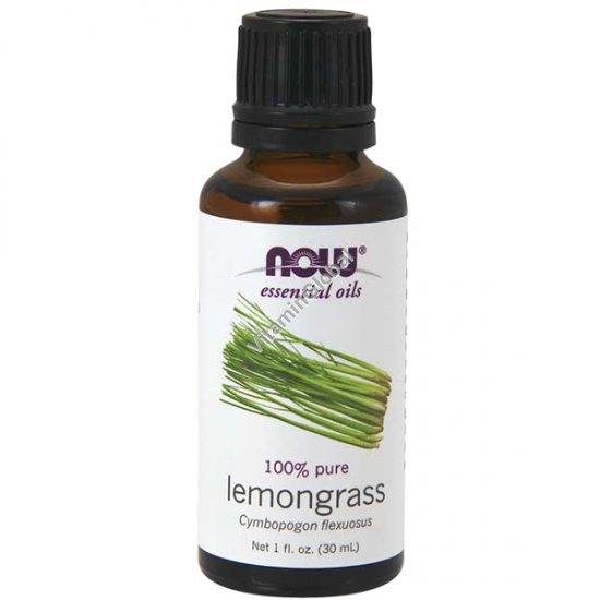 Lemongrass Essential Oil 30ml (1 fl oz) - Now Foods