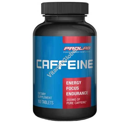 Caffeine 200mg 100 tablets - Prolab Nutrition