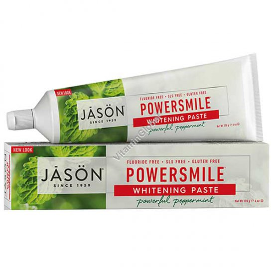 PowerSmile - Natural Whitening Toothpaste 170g - Jason