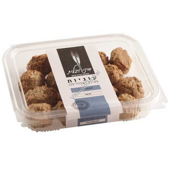 No Added Sugar, Tahini Hazelnuts Oatmeal Cookies 270g - Dani & Galit