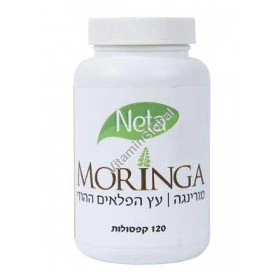 Kosher L\'Mehadrin Moringa 120 caps - Neta Natural Pharmaceuticals
